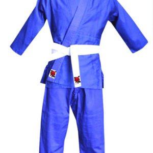 Plavi kimono za džudo i karate za odrasle