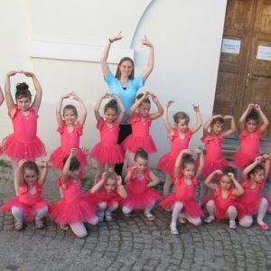 packa tutu baletska suknjica od tila za decu balet crveni triko za gimnastiku i ples