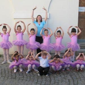 svetlo roze triko za gimnastiku balet til suknja tutu packa za balet