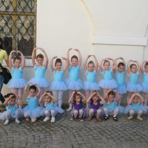 suknja za balet od tila viseslojna na gumu triko bez rukava za balet i ples