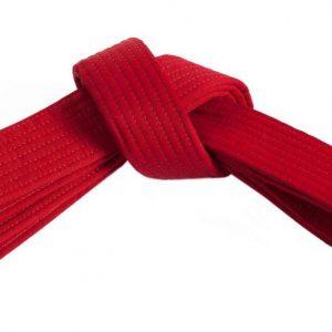 CRVENI pojas za karate judo aikido