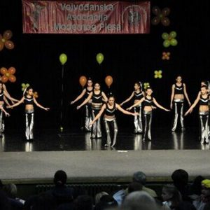 kostim za moderan balet ples za decu borca beograd flex