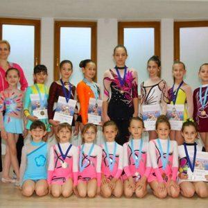 Ritmicka gimnastika BIH Banja Luka klub Alegro trener Rene