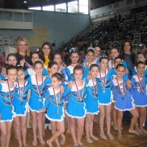 Ritmicka gimnastika za decu Novi Sad kostim triko za gimnastiku