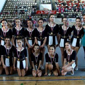 Ritmicka gimnastika, klub Tim iz Beograda
