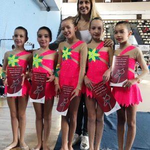 Triko za ritmicku gimnastiku klub Palilula Beograd