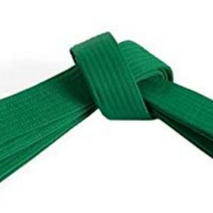 Zeleni pojas za karate judo aikido