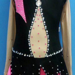 Triko haljina kostim za klizanje i ritmicku gimnastiku
