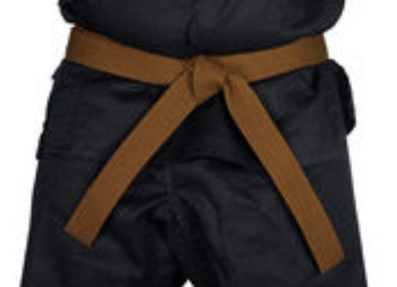 pojas za karate BRAON SMEDJI 2