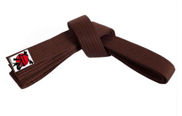Braon pojas za karate judo aikido