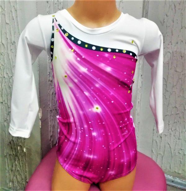 gimnastički triko za devojčice