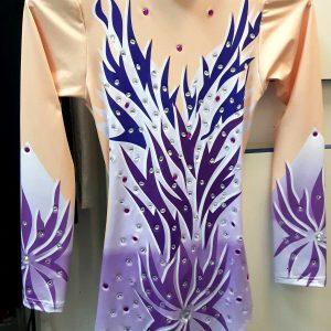 Triko haljina za ritmicku gimnastiku