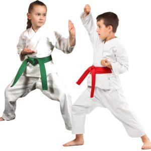 703 beli deciji karate kimono za decake i devojcice Promise