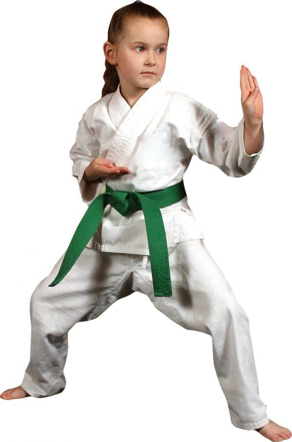 Dečiji kimono za karate beli početnički